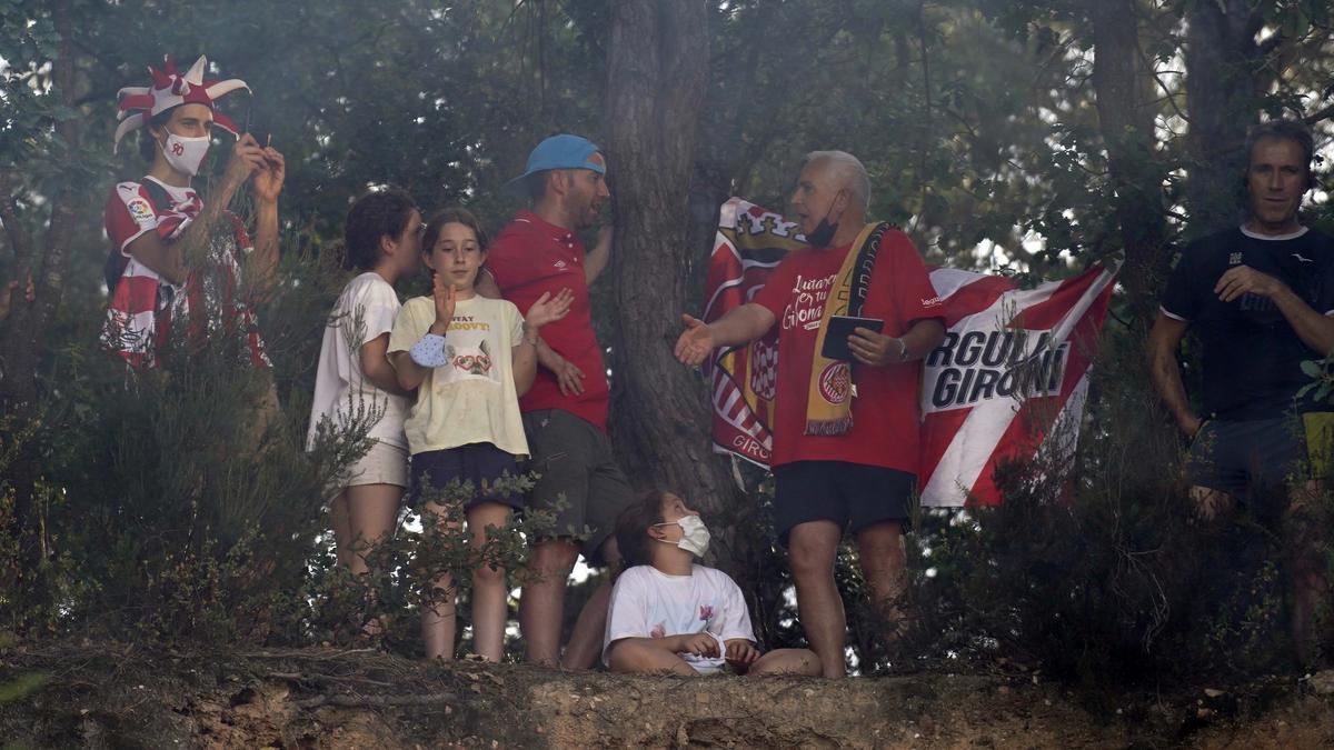 Així es viu la prèvia del Girona Rayo a Montilivi