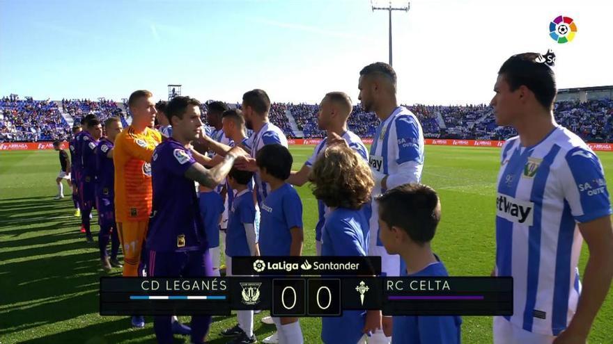 LaLiga Santander: Resumen del Leganés - Celta (0-0)