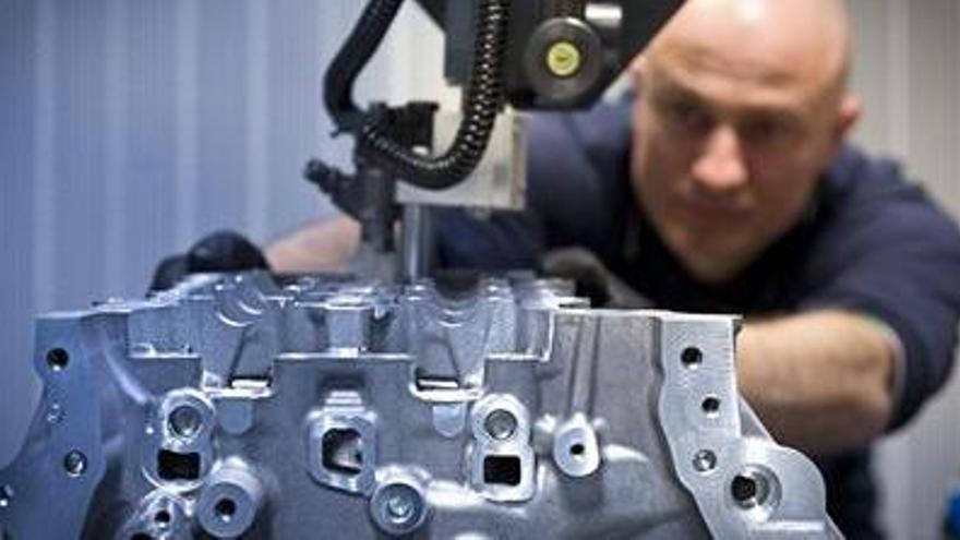 La producción industrial gallega se disparó un 14,5% en marzo
