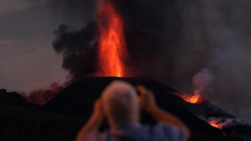 Otra noche de desalojos el La Palma