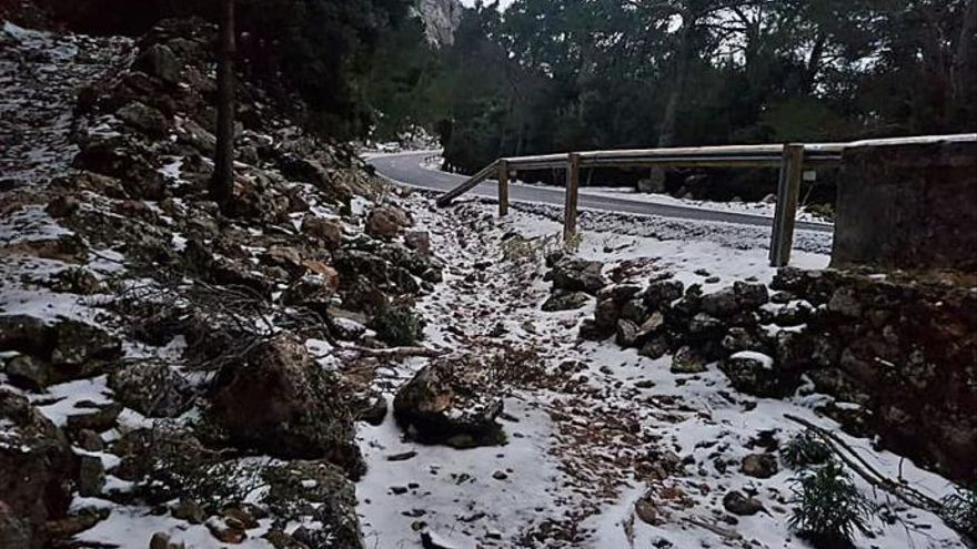 Mallorca registró en enero temperaturas de hasta -4,4 grados