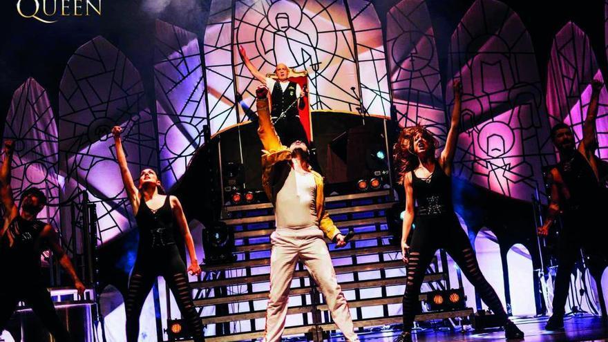 """El musical español sobre """"Queen"""" y Freddie Mercury suena hoy en el Jovellanos"""