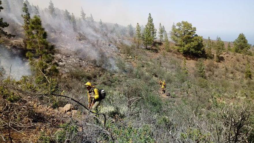 Conato de incendio en Candelaria
