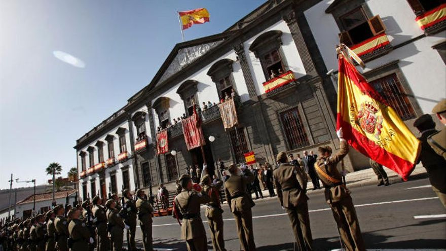 Más de 1.500 militares participan en un ejercicio de defensa en Canarias