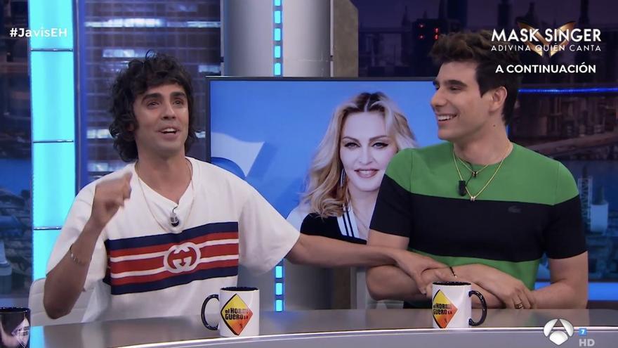 """Los Javis desvelan su amistad con Madonna a raíz de 'Veneno': """"Nos invitó a su casa en Londres"""""""