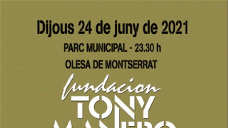 Concert Fundación Tony Manero
