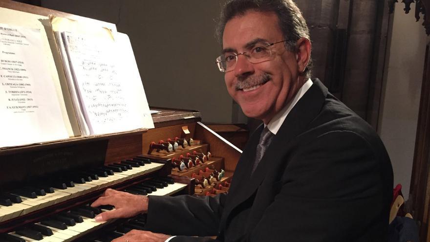 El organista del Vaticano actuará en la Catedral el próximo jueves