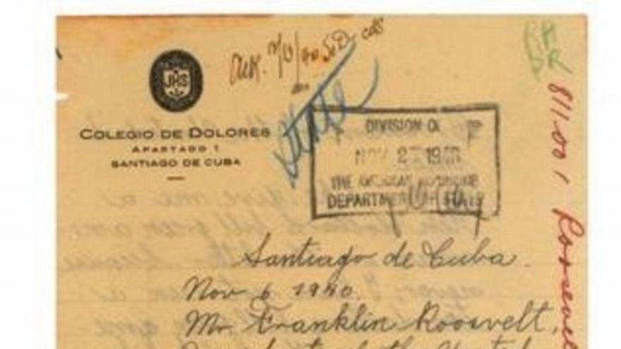 """Castro a Franlin D. Roosvelt: """"Dame un billete de 10 dólares verde americano porque nunca he visto uno"""""""