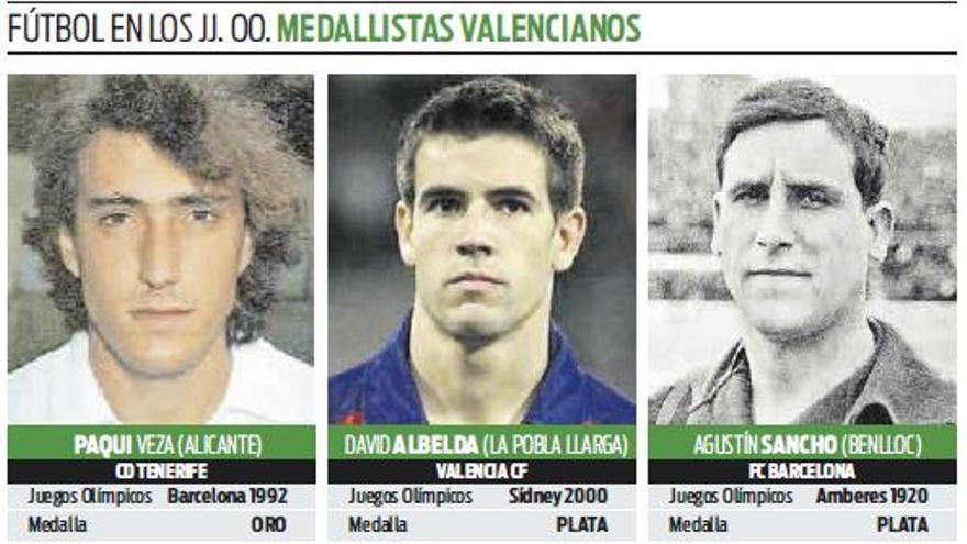 Albelda y su récord olímpico que quiere batir Carlos Soler