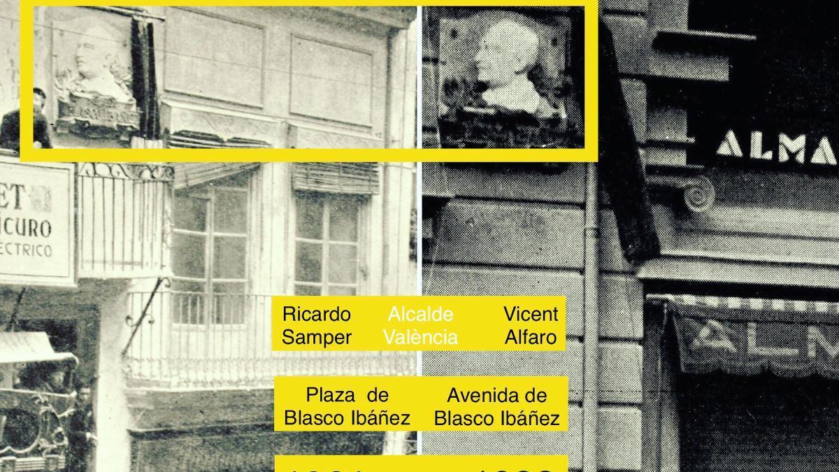 Vicent Alfaro inauguró la Avenida de Blasco Ibáñez y se adelantó 80 años a la Memoria Histórica