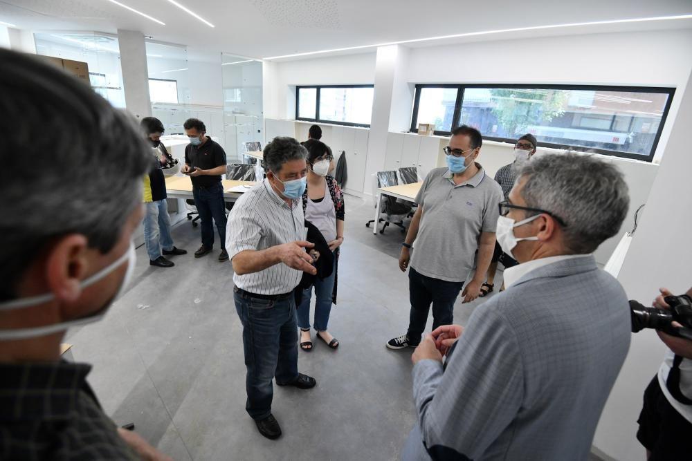 Pontevedra   Avanzan las obras en el nuevo edificio municipal de la calle Herreros