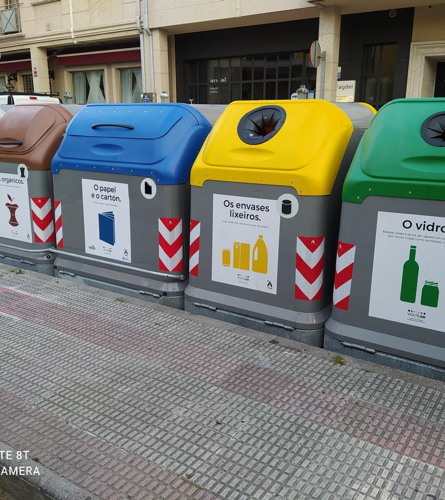Arteixo redobla su apuesta por el reciclaje de papel y vidrio