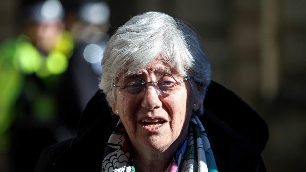 La Justicia escocesa reanuda el proceso de extradición de Clara Ponsatí.