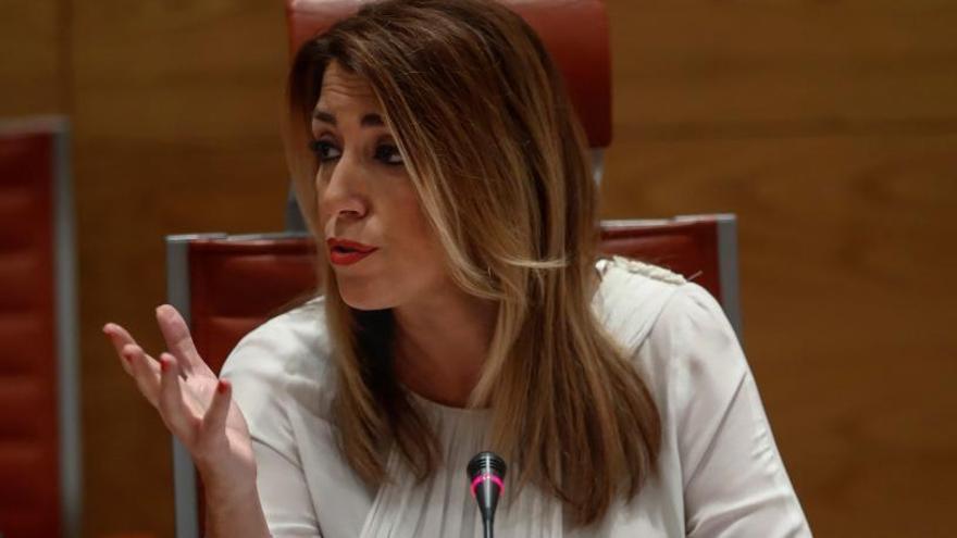 Susana Díaz niega la existencia de financiación ilegal en el PSOE andaluz