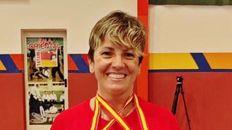 Mª José Mompó consigue dos medallas para el Club Bádminton Xàtiva en Ronda
