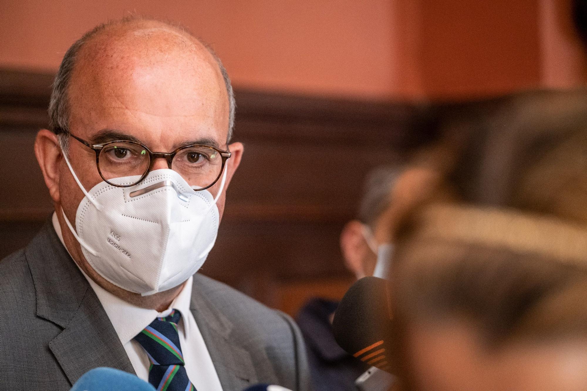 El delegado del Gobierno, Anselmo Pestana.