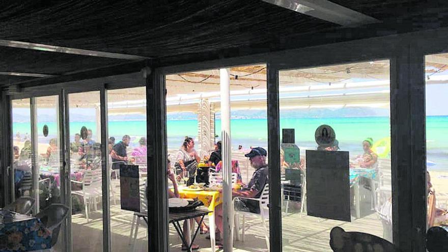 Strandrestaurants auf Mallorca sind halbwegs zufrieden mit der Saison
