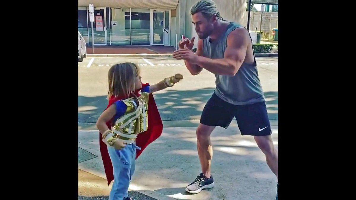 El 'superhéroe' Chris Hemsworth  ya tiene sucesor