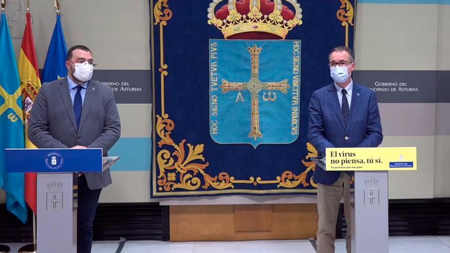Barbón explica cuándo se podrá reabrir el sector hostelero en Asturias