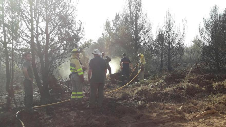 Controlado el incendio declarado en Palacios de Sanabria esta madrugada