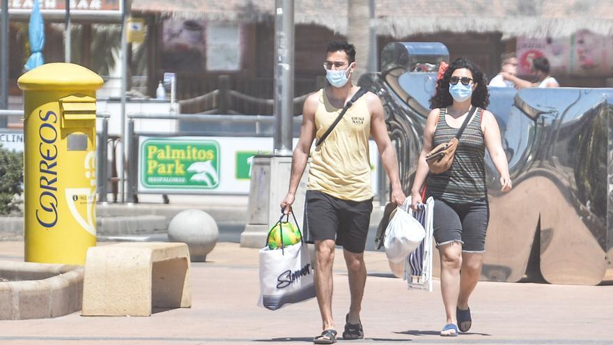 Canarias sufre un importante repunte de contagios: más de 378 en un día