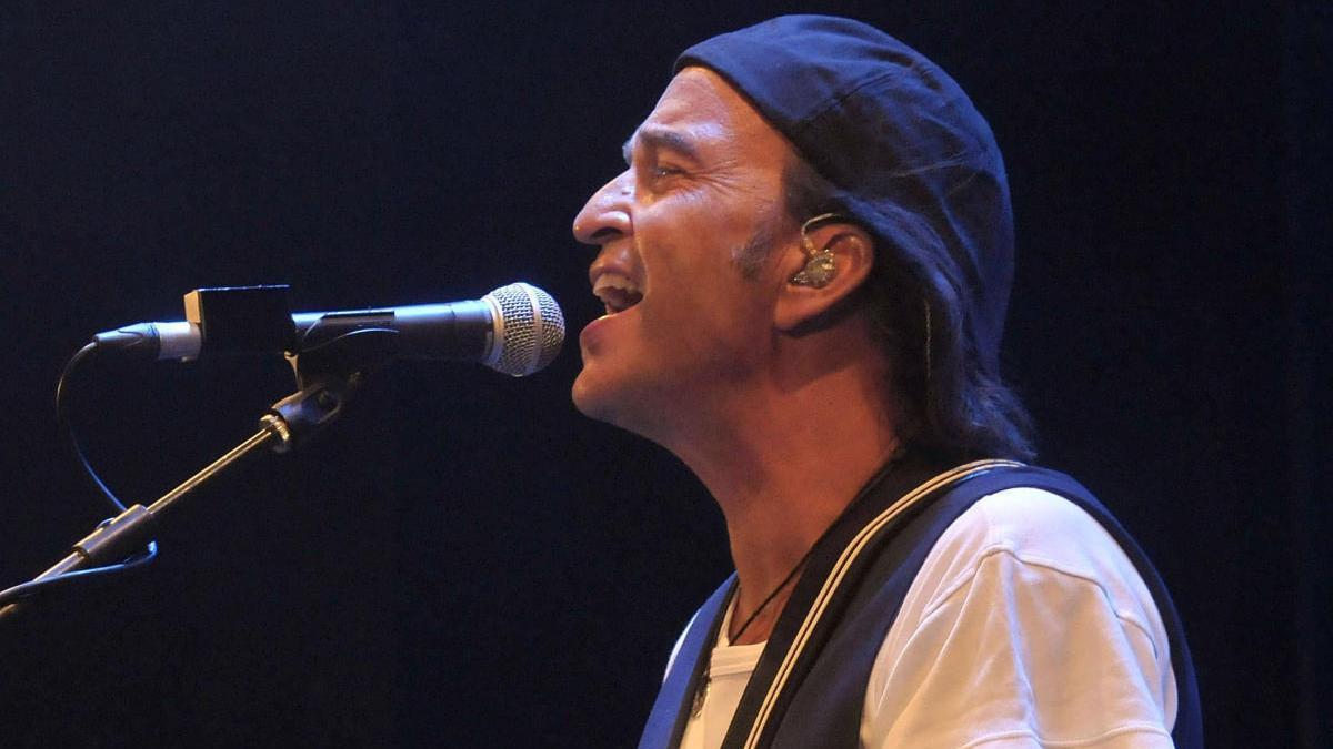 Álvaro Urquijo, cantante de Los Secretos.