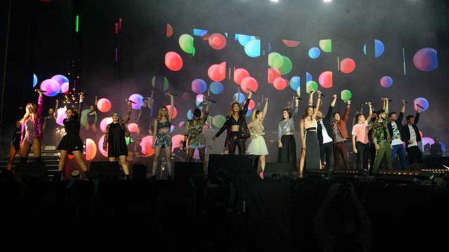 El gazapo que se ha colado en el concierto de 'OT 2017' y que ha sembrado la polémica