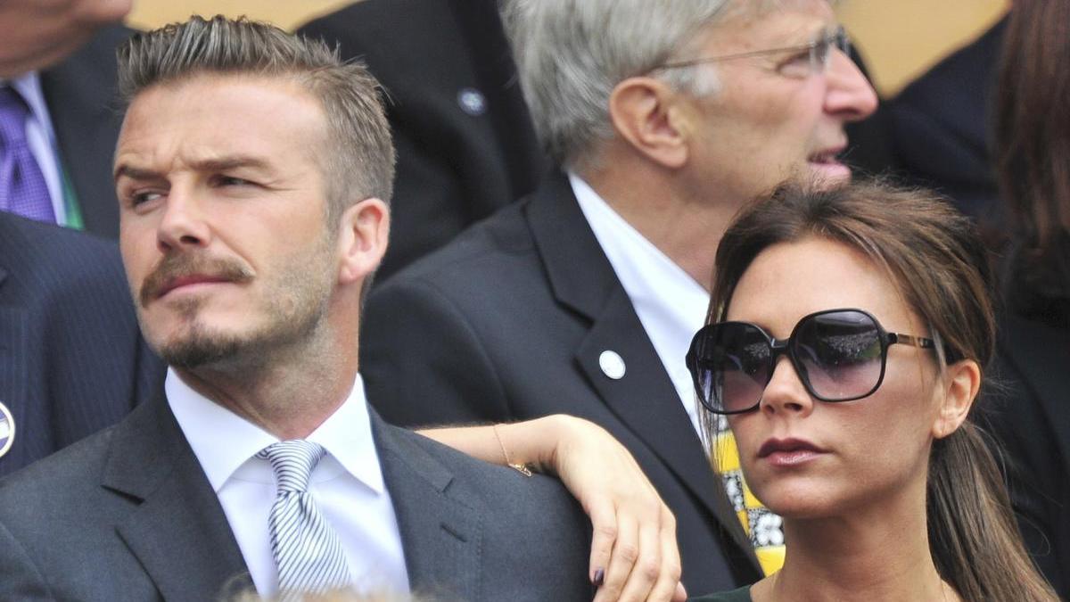 David Beckham y su mujer Victoria en una imagen de archivo.
