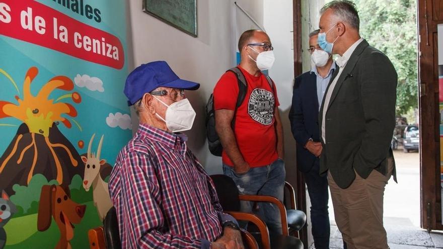 El Gobierno de Canarias busca suelo para construir viviendas destinadas a los afectados por el volcán de La Palma