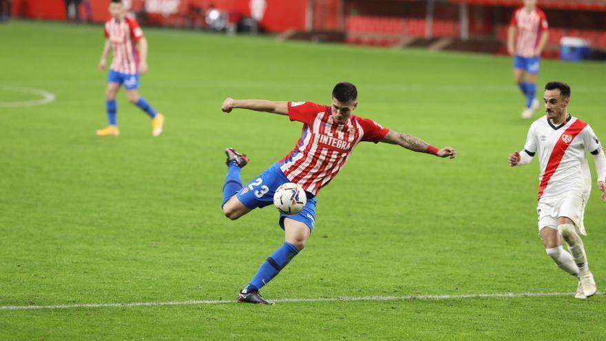 Djuka no podrá jugar con el Sporting frente al Alcorcón y Rayo Vallecano