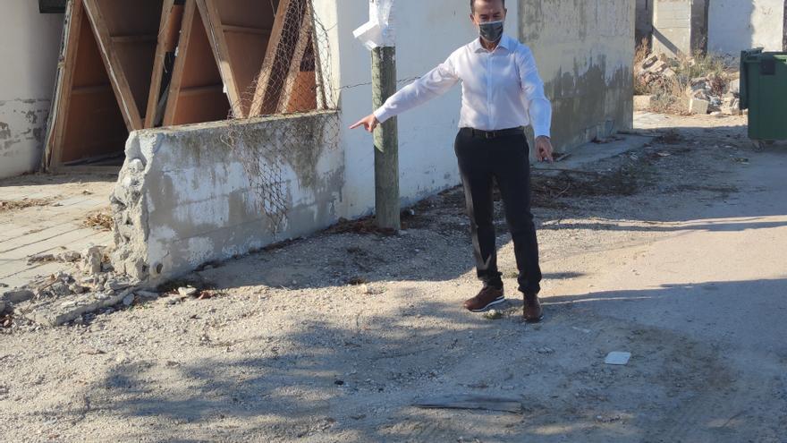 El PP de Benejúzar cuestiona el abandono de zonas afectadas por la DANA un año después