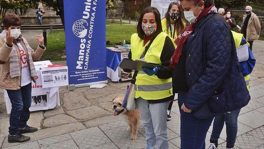 Cerca de medio millar de familias de Pontevedra recibe ayudas para paliar su riesgo de pobreza