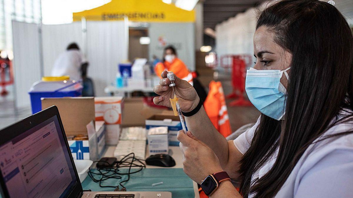 Vacunación en Zamora.