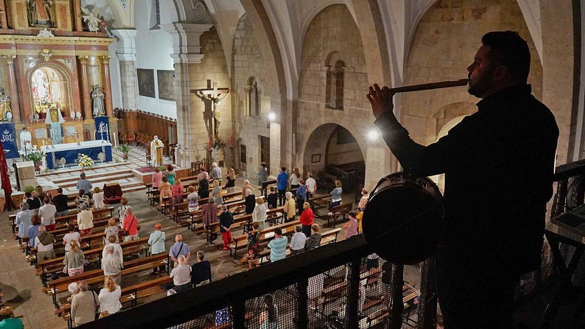 Recogida festividad de la Virgen de la Concha en San Vicente