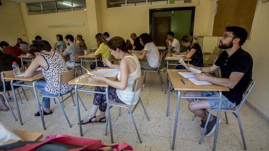 La provincia acumula el 40% de las bajas docentes tras la primera semana del curso