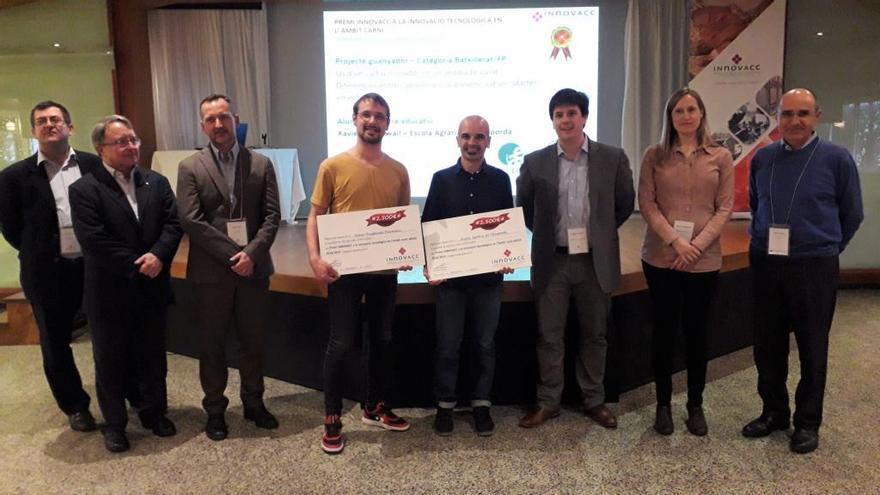 Premi per a un fuet innovador d'un alumne de l'Escola Agrària de l'Empordà