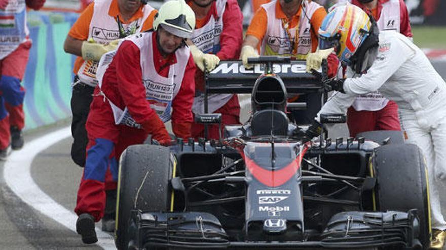 Alonso y Sainz, eliminados en la segunda ronda de la calificación