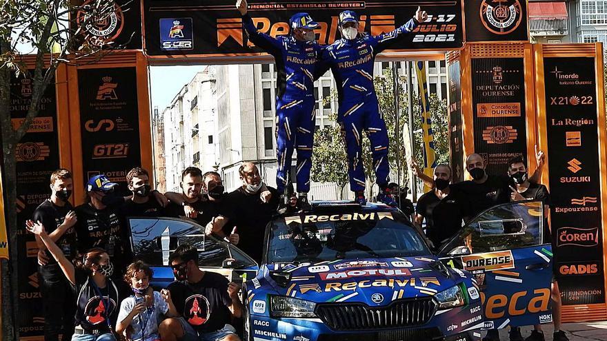 'Cohete' Suárez se proclama campeón del rally
