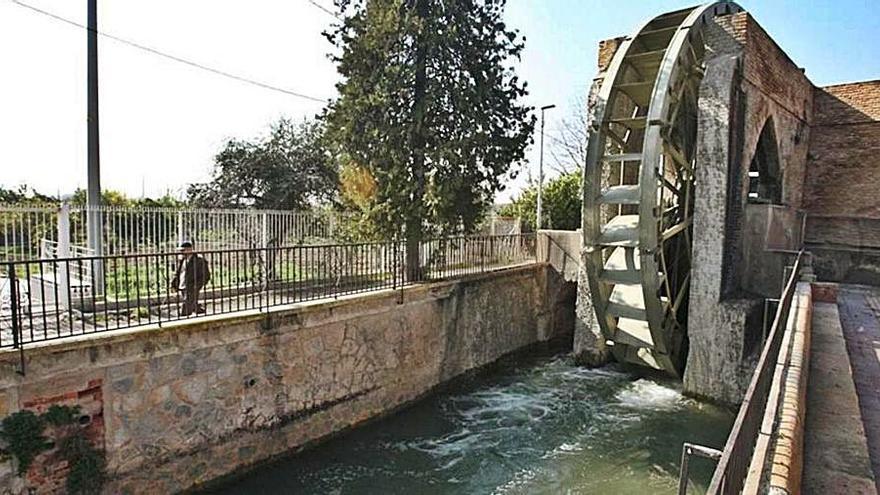 La limpieza de acequias de la Rueda de La Ñora no pasará por Patrimonio