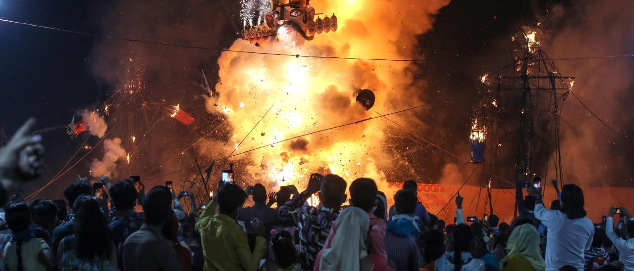Fallas contra el Covid en la India