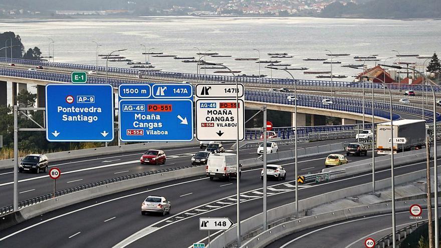Audasa esgrime eventuales colapsos para oponerse a la gratuidad entre Vigo y Rande