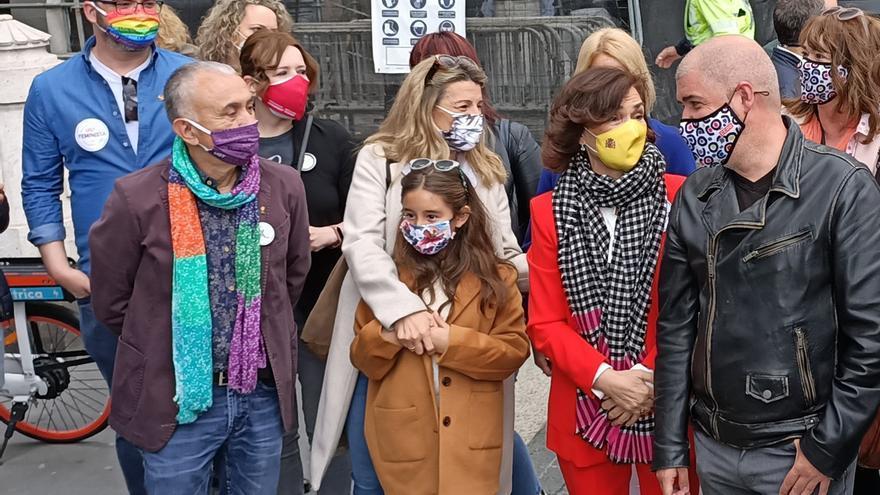 """Díaz defiende el Día del Trabajador como respuesta """"rotunda"""" a la crisis"""