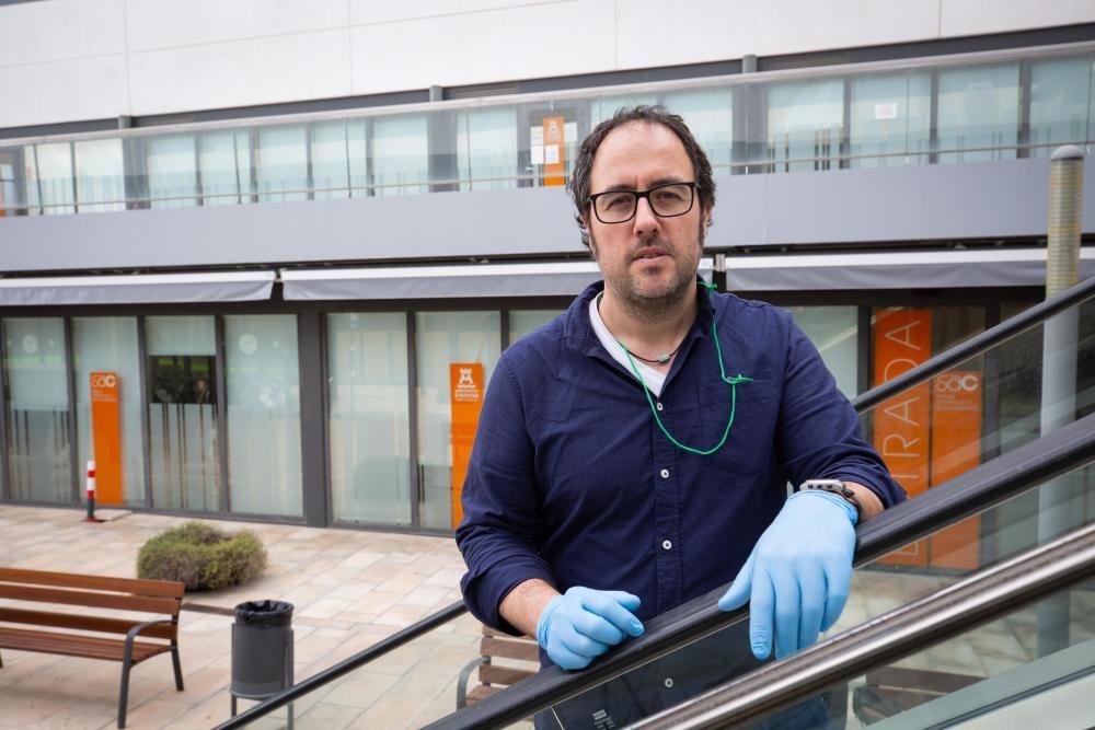 Xavier Vilamanyà, director del Área de Bienestar Social del Ayuntamiento de Ibiza