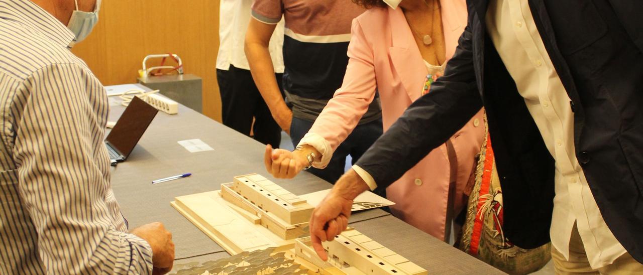 Presentación de la remodelación de la segunda fase del Palacio de Congresos de Santa Eulària