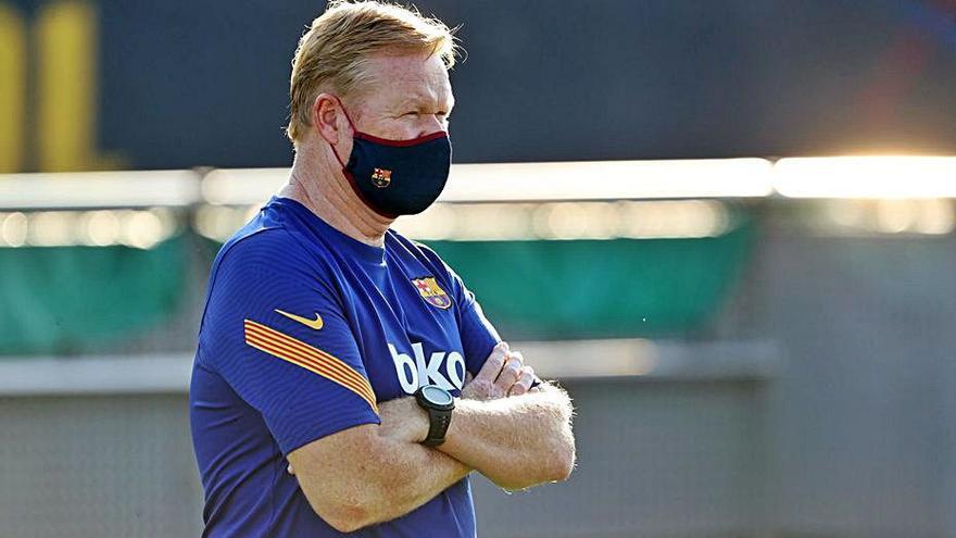 Koeman ja és a Barcelona: «No sé res de Leo Messi»