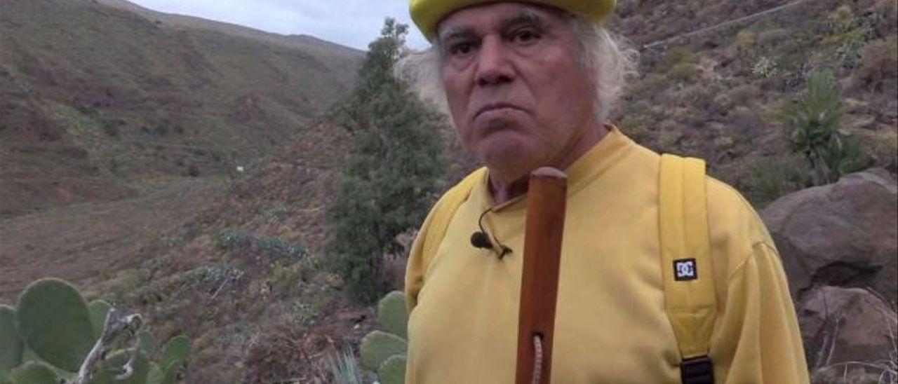 Una imagen del padre Báez.