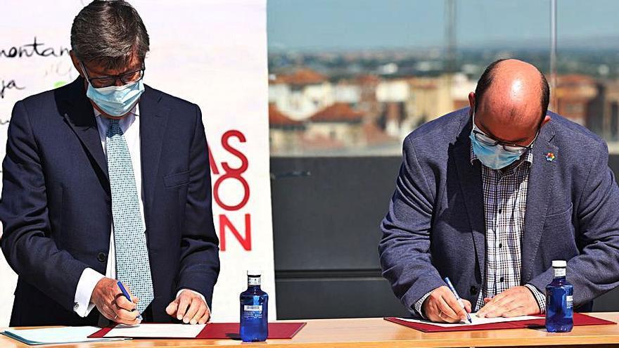 Las Rutas del Vino  reciben 100.000 euros  del Gobierno de Aragón