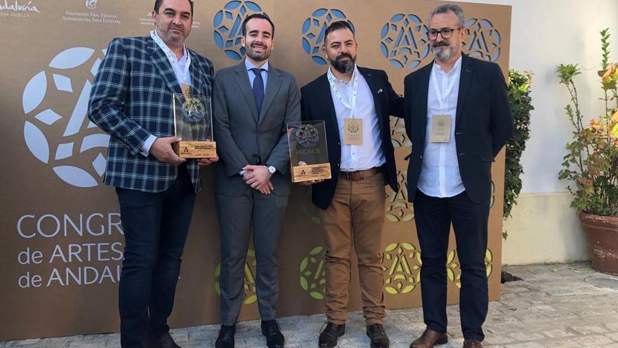 Rafael Aguilera y Tonelería del Sur, galardonados en los 4 Premios a la Artesanía de Andalucía