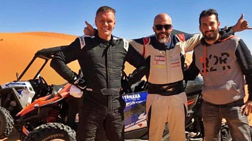 """Nacho Vidal: """"Estoy deseando correr el Dakar junto a Nacho Sanchis"""""""