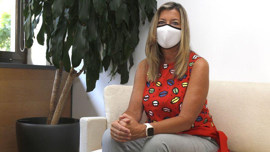 """Patricia Gómez: """"Niego que exista colapso sanitario en los hospitales de Baleares"""""""